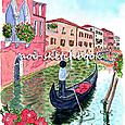 ベネツィアの運河