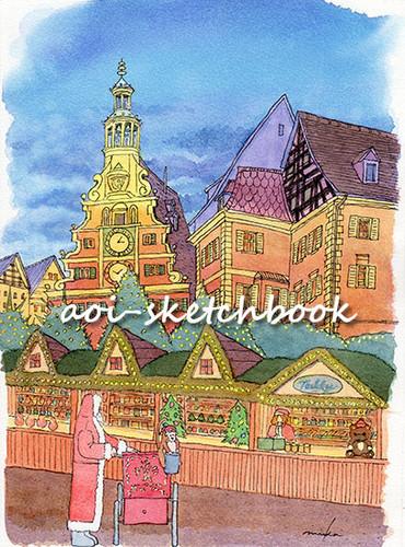 エスリンゲン中世のクリスマスマーケット
