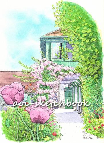 ジベルニー モネの庭