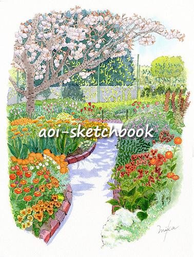 花の美術館 春の庭