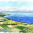 琵琶湖 近江八幡
